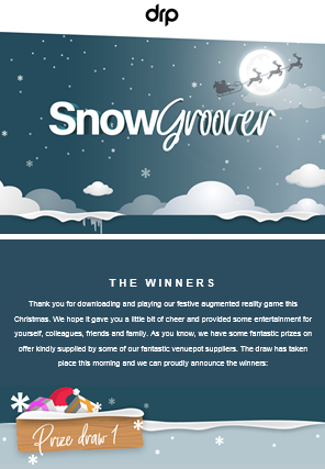 SnowGroover email