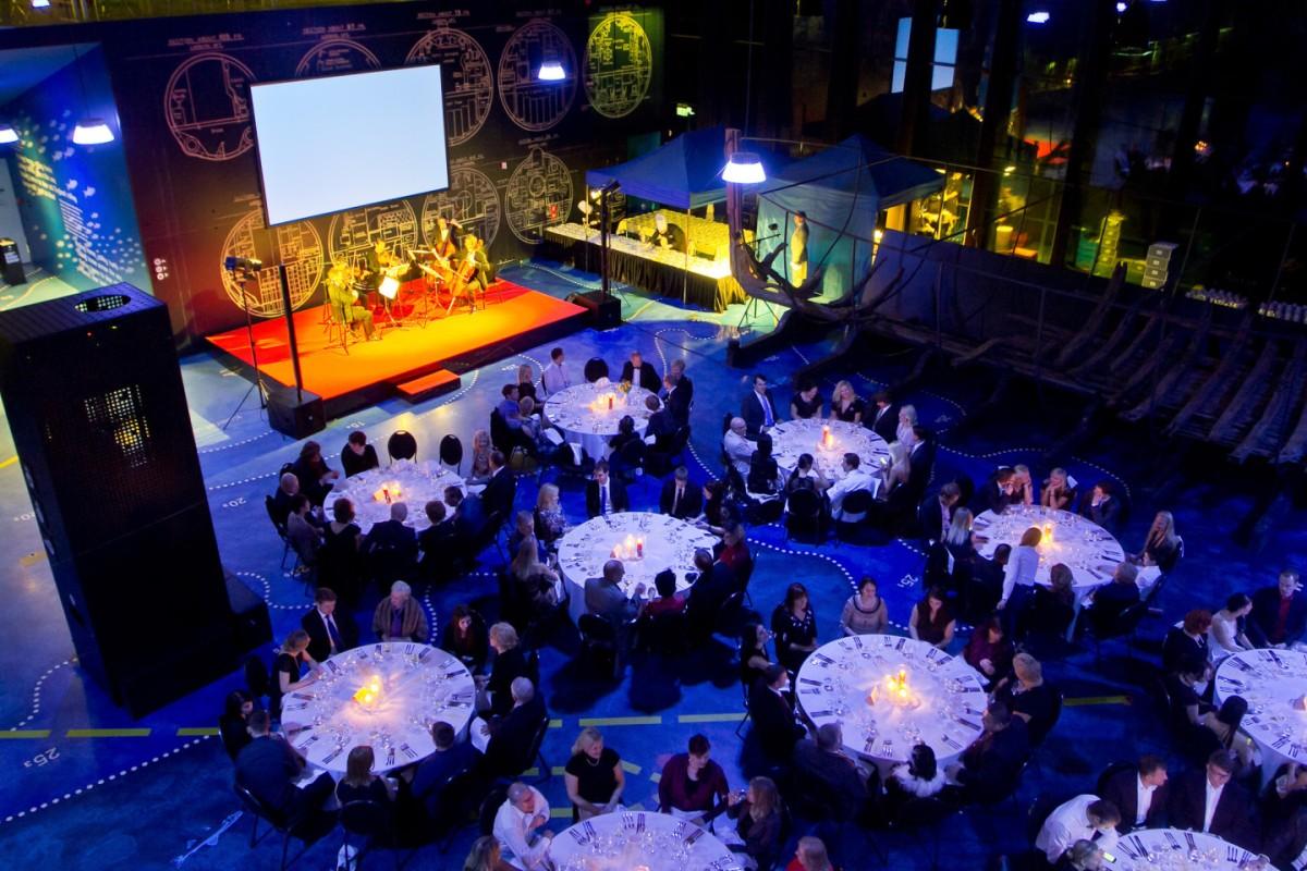Seaplane Harbour Gala Dinner- Tallinn